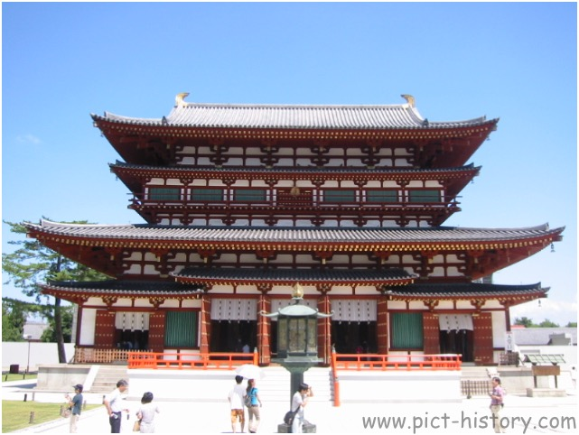 大極殿跡 Daigoku-Den (Ruin of imperial audience hall )